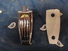 1) LUDWIG Classic 'Vistalite'. BASS DRUM LUG. w/ Gasket. B/O '70s. ('75) players