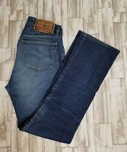 Diesel-Jeans-Women-039-s-Size-29-Inseam-30-Bootcut-Blue-A60