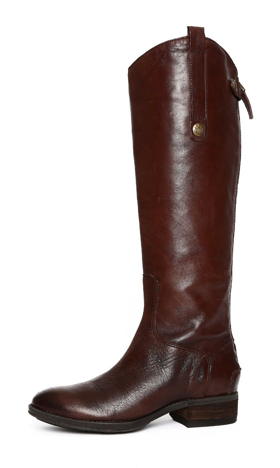 Sam Edelman Penny Donna Dark Brown Boot Sz 5 6790