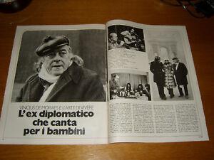 VINICIUS-DE-MORAES-clipping-articolo-da-rivista-foto-photo-1973