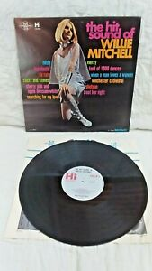 WILLIE MITCHELL~The Hit Sound Of~Hi RECORDS HL 12034 MONO~s&h $4.05 in USA !