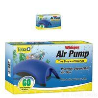 Aquarium Whisper Air Pump Water Fish Tank Accessories Fits 40-60 Gallon-powerful