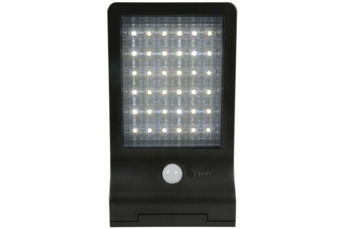 Lyyt solar led motion sensor security light black ebay lyyt solar led motion sensor security light black aloadofball Images
