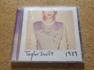 Taylor Swift 1989 Cd Album 2014 Used Very Good Condition Sent Post Free In Uk Ebay