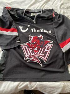 Cardiff Devils Ice Hockey jersey Shirt Top Vintage Rare