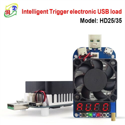 Intelligent Trigger USB Electronic Load For QC2.0 QC3.0 AFC FCP Quick Charge
