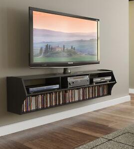 floating tv stands entertainment shelf wall mount center. Black Bedroom Furniture Sets. Home Design Ideas