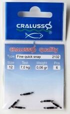 Cralusso Match Fine Quick Snap  new size  12//14 set//2 hooklengt anglers connect