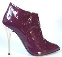 $850 Giuseppe Zanotti Purple Ankle Boots Heels 35 Us 5 - Very Pretty