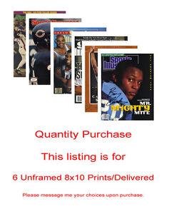 7 Unframed 8x10 prints - packed & delivered safely