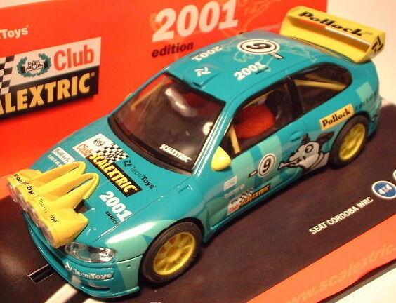 Qq 6061 Scalextric (scx) Cordoba Club Club Club 2001 0ea