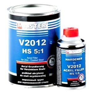 1L-5-1-Schwarz-2K-Acryl-Primer-Fueller-HS-V2012-Haerter-Grundierung-Zink-Alu-KFZ