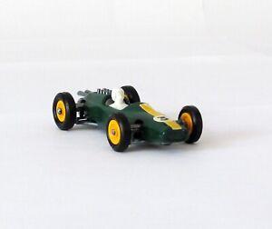 Vintage Matchbox Lesney #19 Lotus Coche de Carreras Amarillo concentradores regular rueda 1966