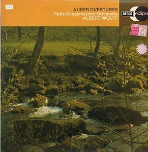Auber-Vinyl-LP-Overtures-Decca-ECS-695-65-1961-VG-VG