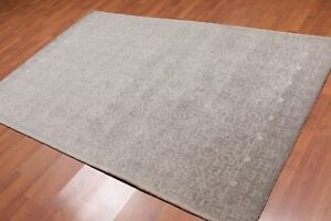 Old-Hand-Made-Grey-Contemporary-Style-Parsian-Oriental-Wool-Area-Rug