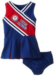 texas rangers toddler dress