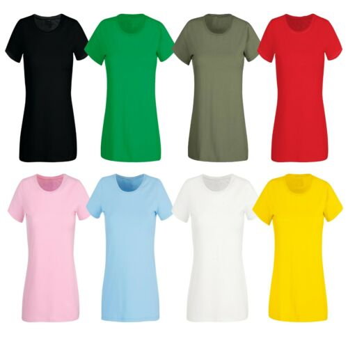 7 Shirts Girls Ladies Women 100/% Cotton T-Shirts Assorted Colour/'s Special Offer