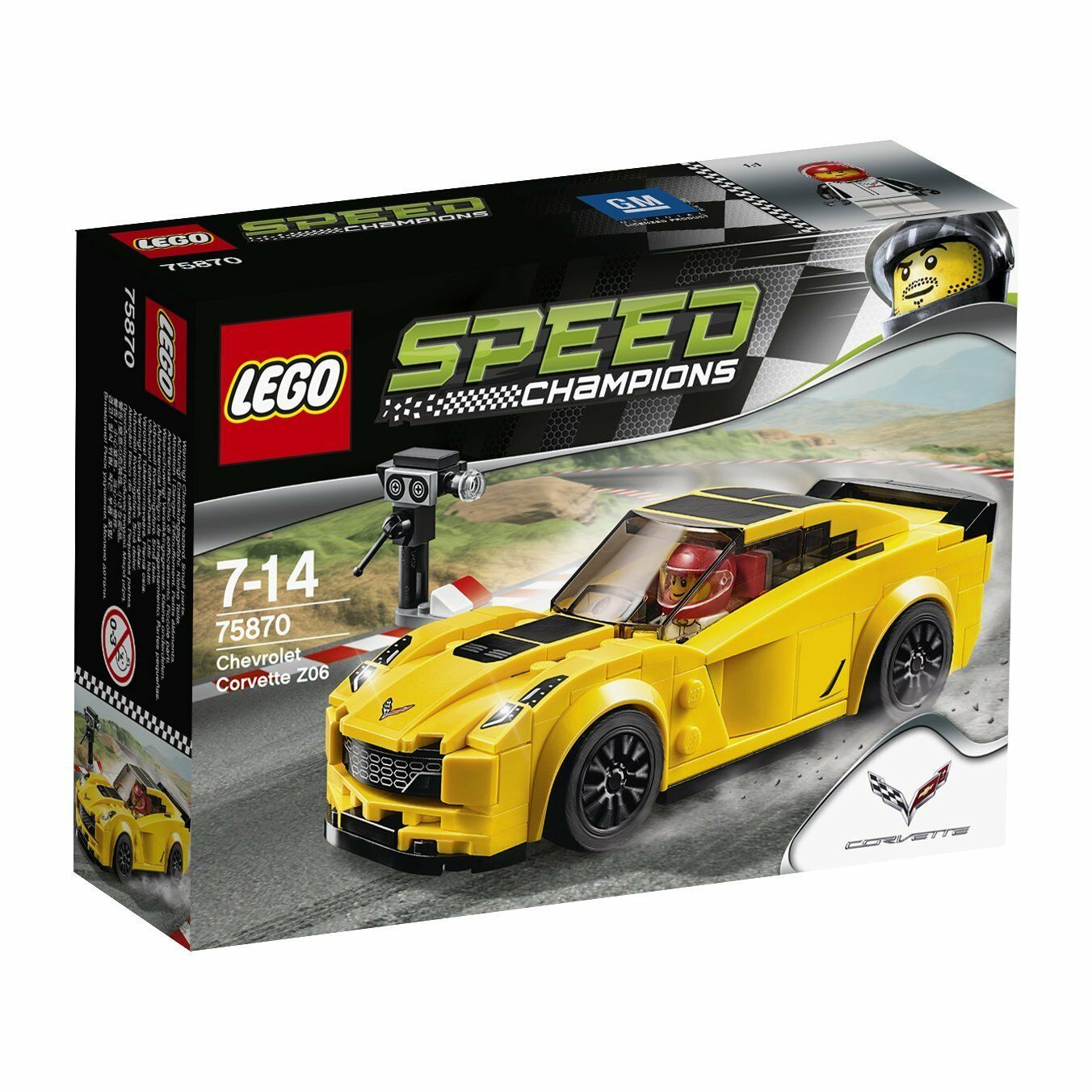Lego® 75870 Speed Champions Corvette Neu und OVP new sealed