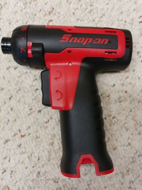 """SNAP ON*CTS761A*14.4 VOLT*1/4"""" MICRO-LITHIUM CORDLESS SCREWDRIVER*TOOL ONLY*NEW!"""