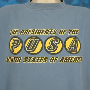 vtg-90s-PRESIDENTS-OF-THE-UNITED-STATES-OF-AMERICA-CONCERT-T-Shirt-XL-rock-tour