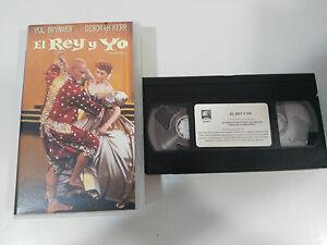 THE-KING-Y-YO-VHS-TAPE-COLLECTOR-YUL-BRINER-DEBORAH-KERR-THE-KING-AND-I