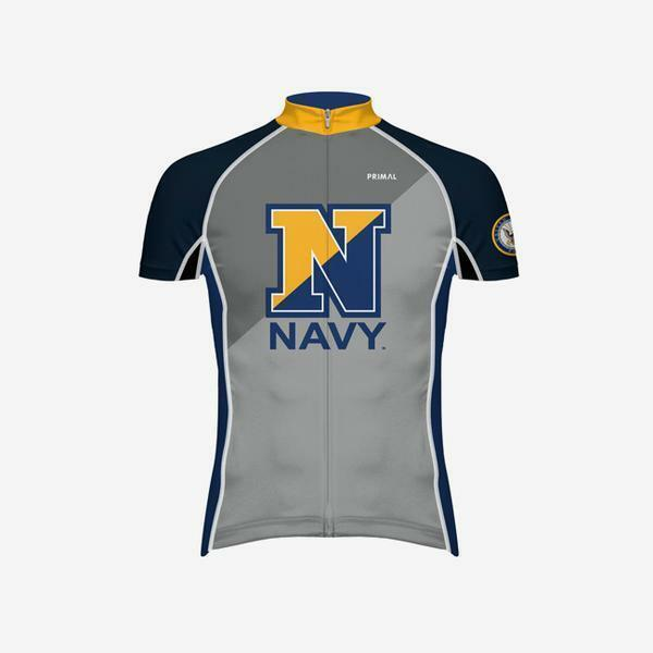 Primal Wear Men's US Navy Evo Cycling Jersey - 2019