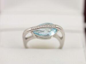 Diamond-and-Aquamarine-Ring-9ct-White-Gold-Ladies-Size-L-1-2-375-AD68