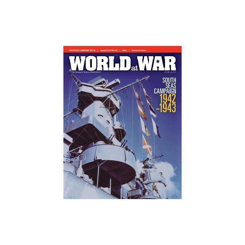 World at War Edición 18 Mares del Sur campaña ENLOMADOR con juego  nuevo
