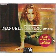 MANUELA ZANIER - Amami - CDs SINGLE 2003  MINT COND.