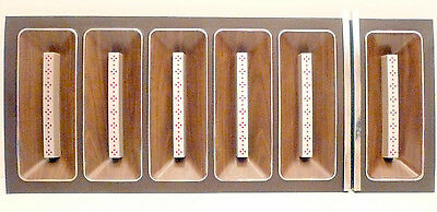 ROWE R-82 JUKEBOX part CURVED SONG TITLE BOARD w// 4 SUPPORT RODS