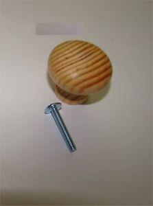 1x-Knopf-aus-Holz-Kiefer-ROH-Durchmesser-35mm-Gesamthoehe-30mm-1x-Schraube