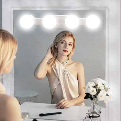 Portable Makeup Lights Cordless Super Bright With4 Led