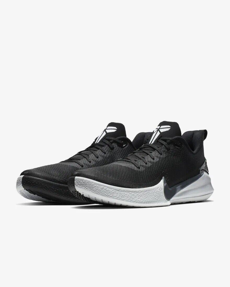 AJ5899-002 Nike Kobe Mamba Focus Basketball Black Grey-White Sizes 8-13 NIB