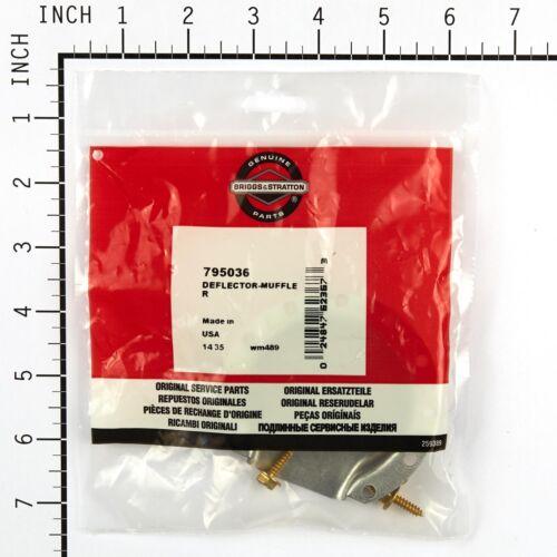 Genuine Brigg/&Straton Muffler Deflector Part# 795036