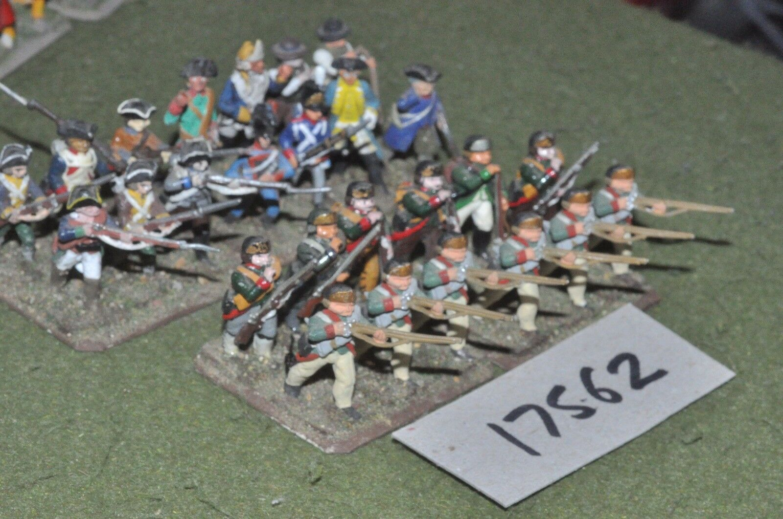 25mm AWI   american - infantry 26 figs - inf (17562)