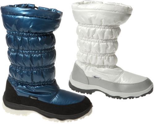 Womens Snow Casual Winter Zip up Ladies Walking Fur Lined Hiking Boot