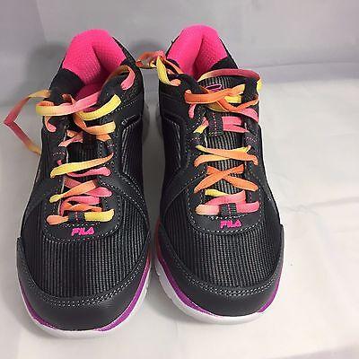 FILA RN 91175 Women's Gray Pink Running
