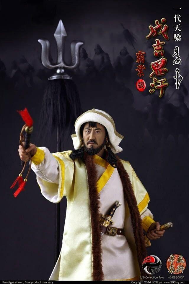 303 giocattoli-Tianjiao Generation - Gen Gi Gi Gi Khan à l'échelle 1 6ème - NIB 2aeb58