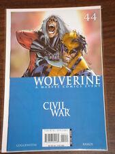 WOLVERINE #44 VOL3 MARVEL COMICS CIVIL WAR SEPTEMBER 2006