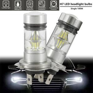 2-PCS-LED-Ampoules-Voiture-Brouillard-100W-6000K-CREE-Blanc-Haute-Puissance-G