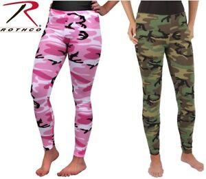 1dbe37bf2ba13 Image is loading Rothco-Womens-Camo-Leggings-Rothco-3298-Woodland-Camo-
