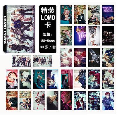 KPOP BTS 30pcs WINGS Photo Poster JIN Bangtan Boys Summer Package Lomo Cards V