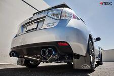 2011-2013 Subaru WRX Hatchback ARK Performance GRiP exhaust w/ Tecno Tips