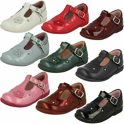 Start-rite Sunflower Girl/'s Shoes White Patent Leather 55/% OFF RRP