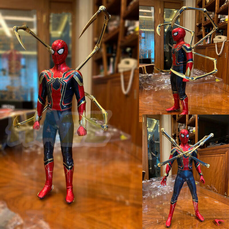 Avengers  Infinity War HC Spider-Man PVC Action Figure Toy 29cm