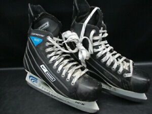 NIKE-Supreme-Select-BAUER-Men-039-s-Ice-Hockey-Skates-TUUK-Fasteel-Size-10-JR