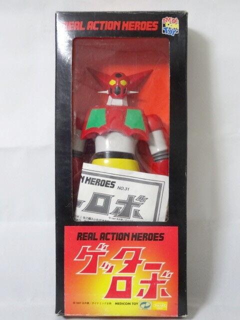 1974 Getter Robo 1 Figure Medicom Toy Real Action Heroes Robot Combat Joe