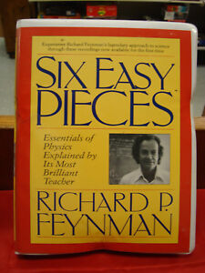 Image Is Loading Six Easy Pieces By Richard P Feynman Book