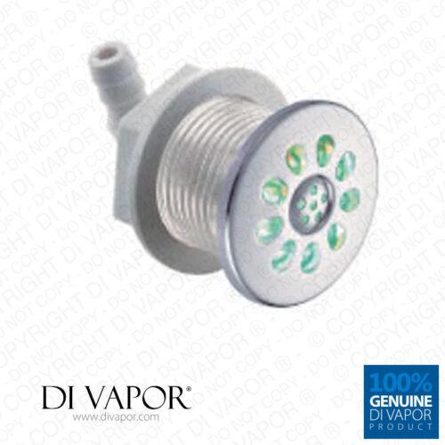 Luft Jet mit mehrfarbig LED Lampen für Whirlpool Whirlpool Bade SPA Farbe