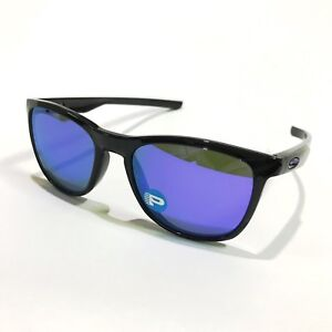 de972ad275 Oakley Sunglasses   Trillbe X 9340-03 Polished Black Ink Violet Irid ...